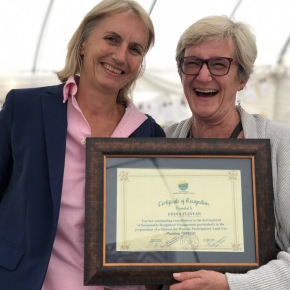 Fiona Flintan recognized by Ethiopian government for contributing to sustainable rangelands